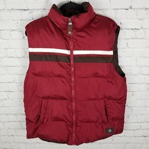 BRODY | full zip puffer vest